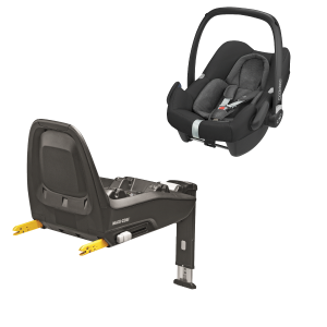 Maxi Cosi Rock + Family Fix One Bas Nomad Black