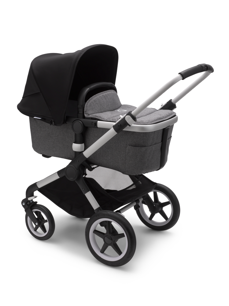 Bugaboo Fox 2 Alu Bas Grey Melange Black
