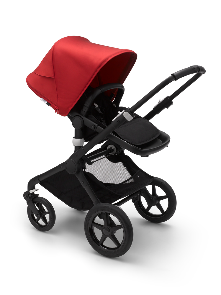 Bugaboo Fox 2 Black Bas Red Sufflett Barnvagn