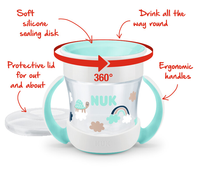 NUK Fruity Magic Cup 8  mån Limited Edition