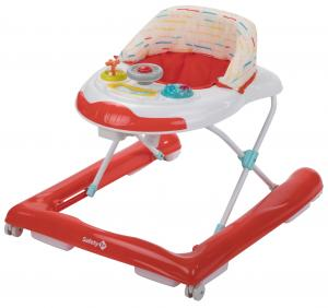 Safety 1st Gåstol / Baby Walker Bolid Red Lines