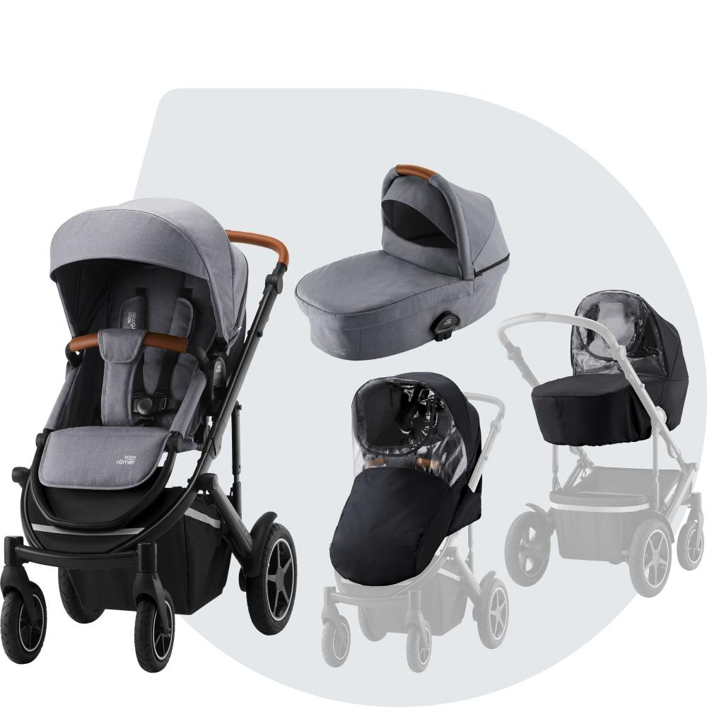 Britax Smile III Startpaket Frost Grey Brown