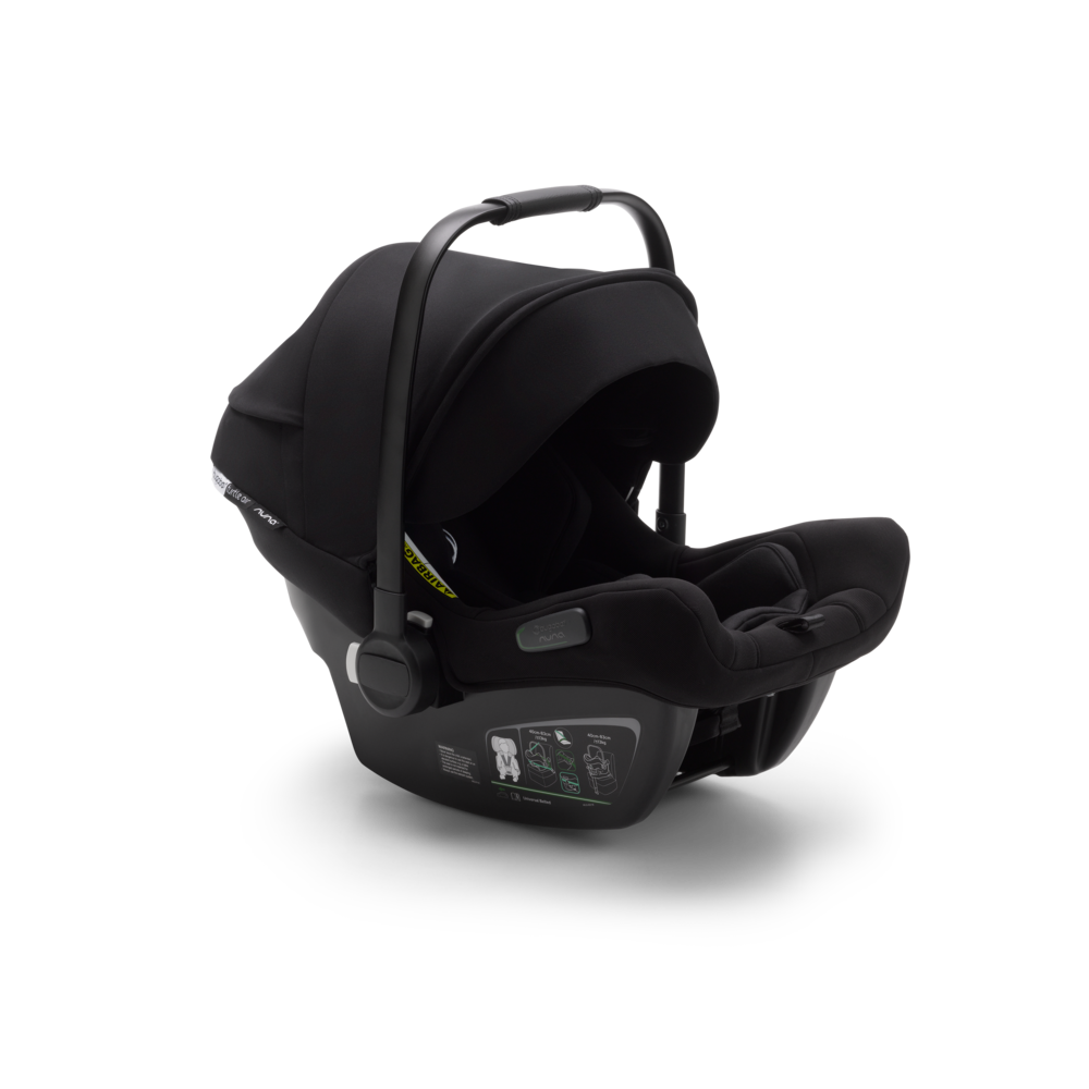 Bugaboo Turtle Air by Nuna Black | Babyskydd 0-15 månader