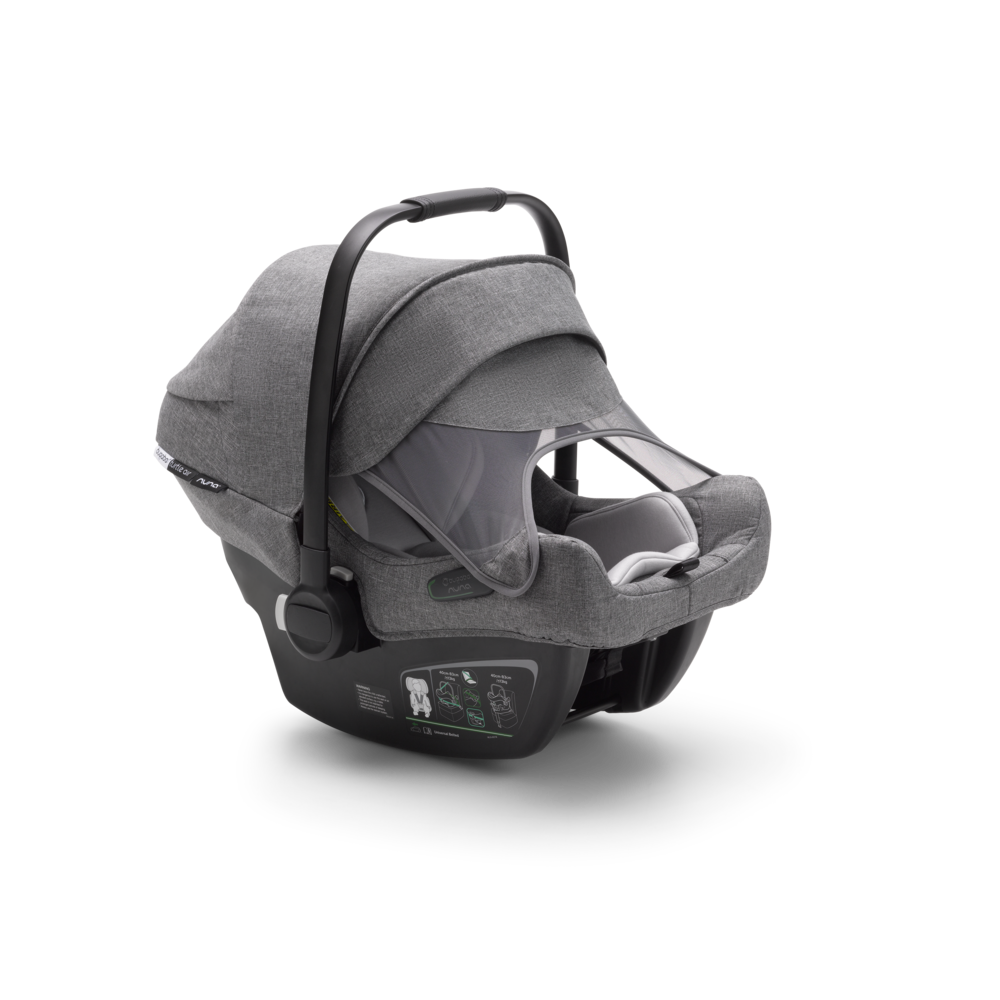 Bugaboo Turtle Air Grey Melange + Isofix Wingbase