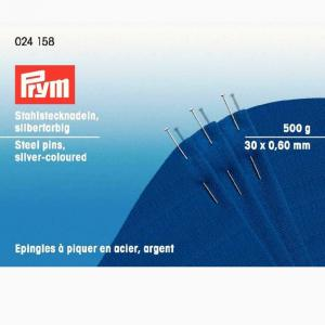Knappnålar 0,6 x 30mm - 500 gram