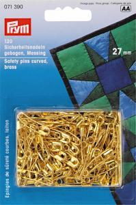 Säkerhetsnålar böjda 27 mm