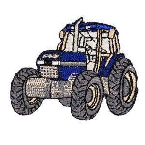 Applikation - Traktor Blå