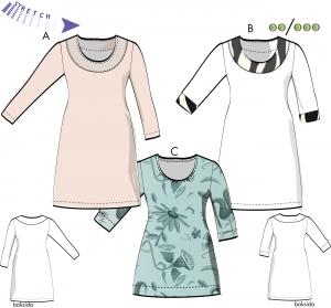 Mary – Klänning, tunika för stretch