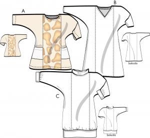 Ingrids klänning - Tunika, tröja