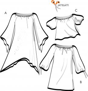 Singoalla - Tunika, klänning, blus