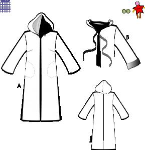 Kappa, långskjorta - Stl 48-60
