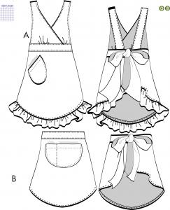 Leila - Förkläden