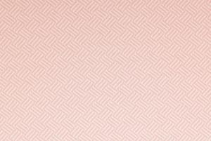 Stickad jaquard med återvunna fibrer - Rosa randigt