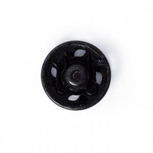Tryckknappar 11 mm - Svart