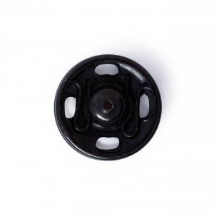Tryckknappar 13 mm - Svart