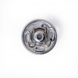 Tryckknappar 11 mm - Silver