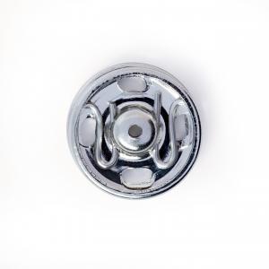 Tryckknappar 13 mm - Silver