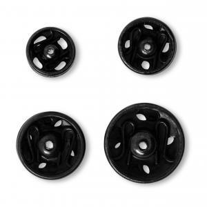 Tryckknappar 6-11 mm - Svart