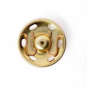 Tryckknappar 21 mm - Guld