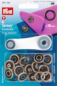 Tryckknappar Jersey 18mm