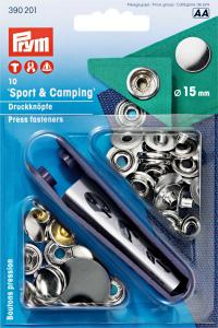 Sport & Camping 15mm Silver