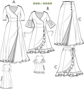 Christina - Klänning, kjol