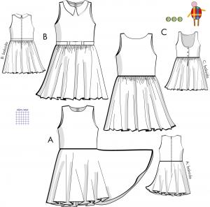 Elsa - Barnklänning