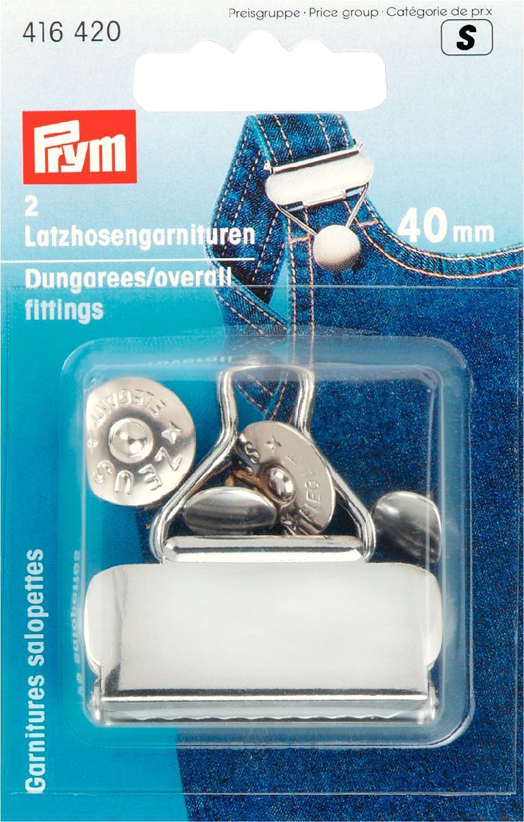 Snickarspännen 40mm - Silver