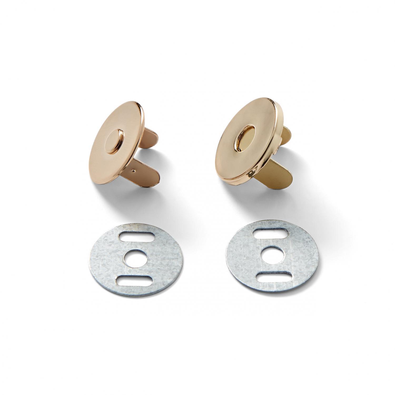Magnetlås 19 mm - Guld