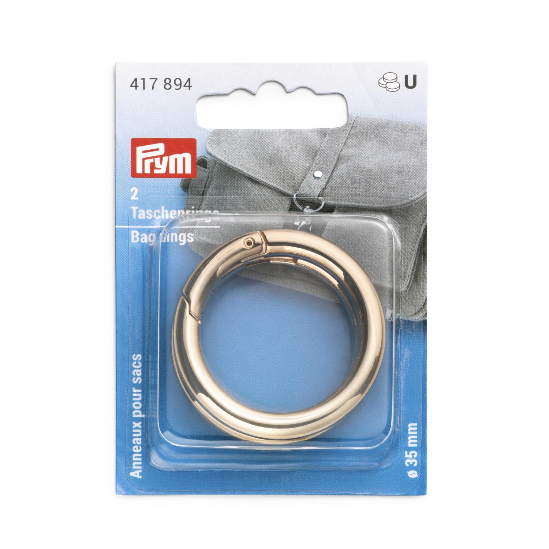 Öppningsbara ringar 35 mm - Guld
