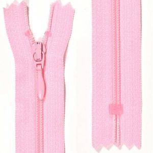Klänningslås 4 mm Rosa