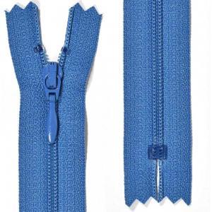 Klänningslås 4 mm Blå