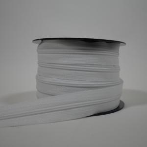 Blixtlås metervara 4 mm - Vit