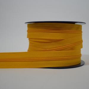 Blixtlås metervara 4 mm - Gul
