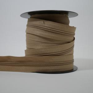 Blixtlås metervara 6 mm - Beige