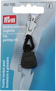Zip pulling aid