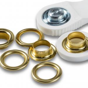 Öljetter 11mm - Guld