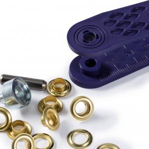 Öljetter 5mm - Guld