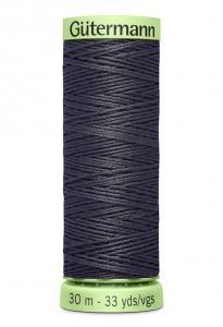 Knapptråd 30m Mörkgrå