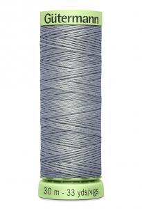 Knapptråd 30m Grå