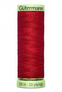 Knapptråd 30m Vinröd