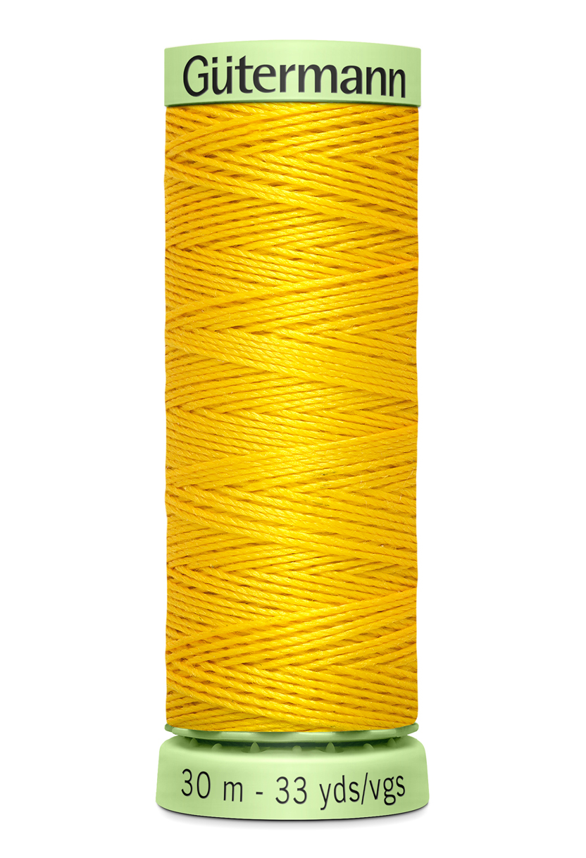 Knapptråd 30m Knallgul
