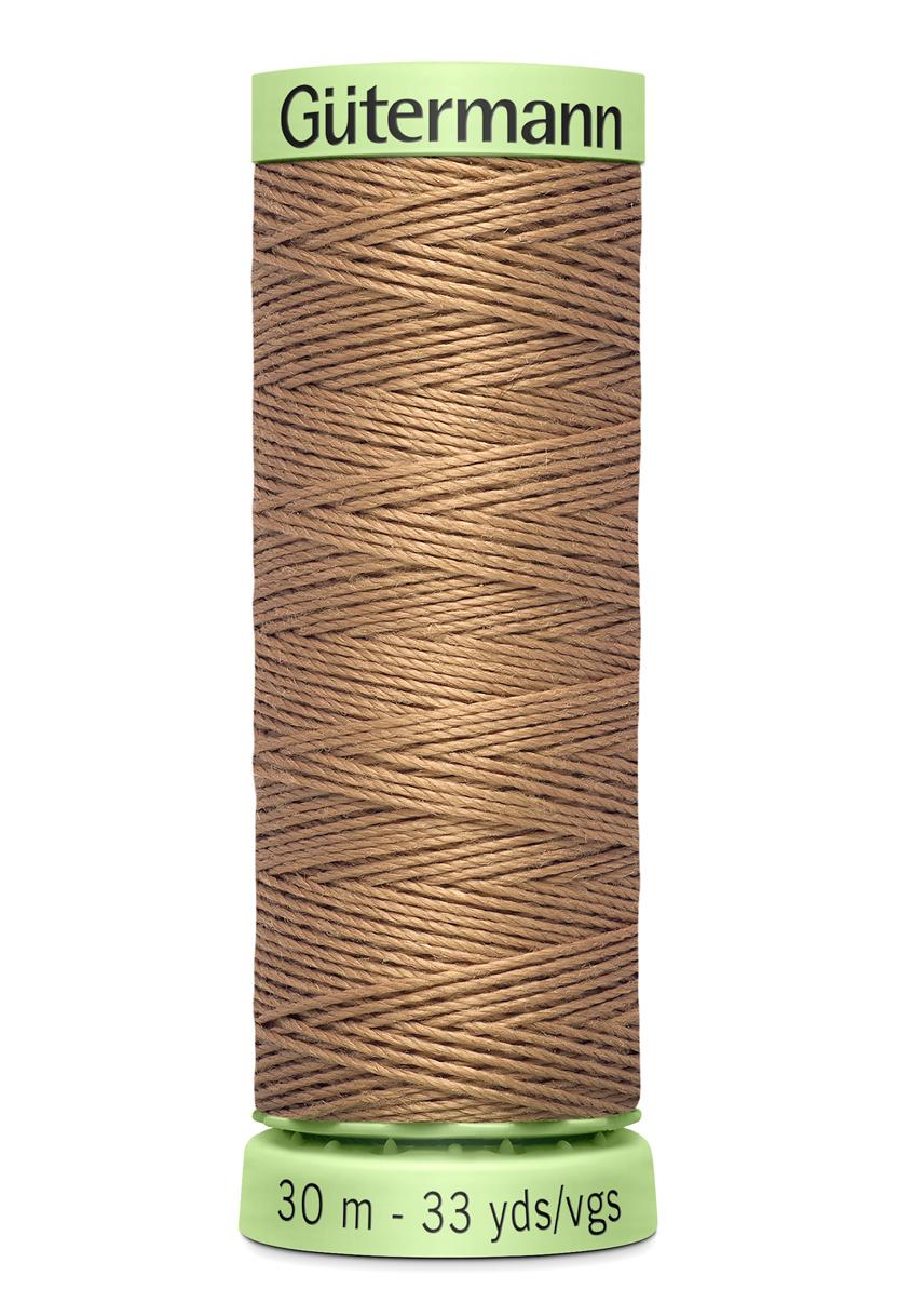 Knapptråd 30m Ljusbrun
