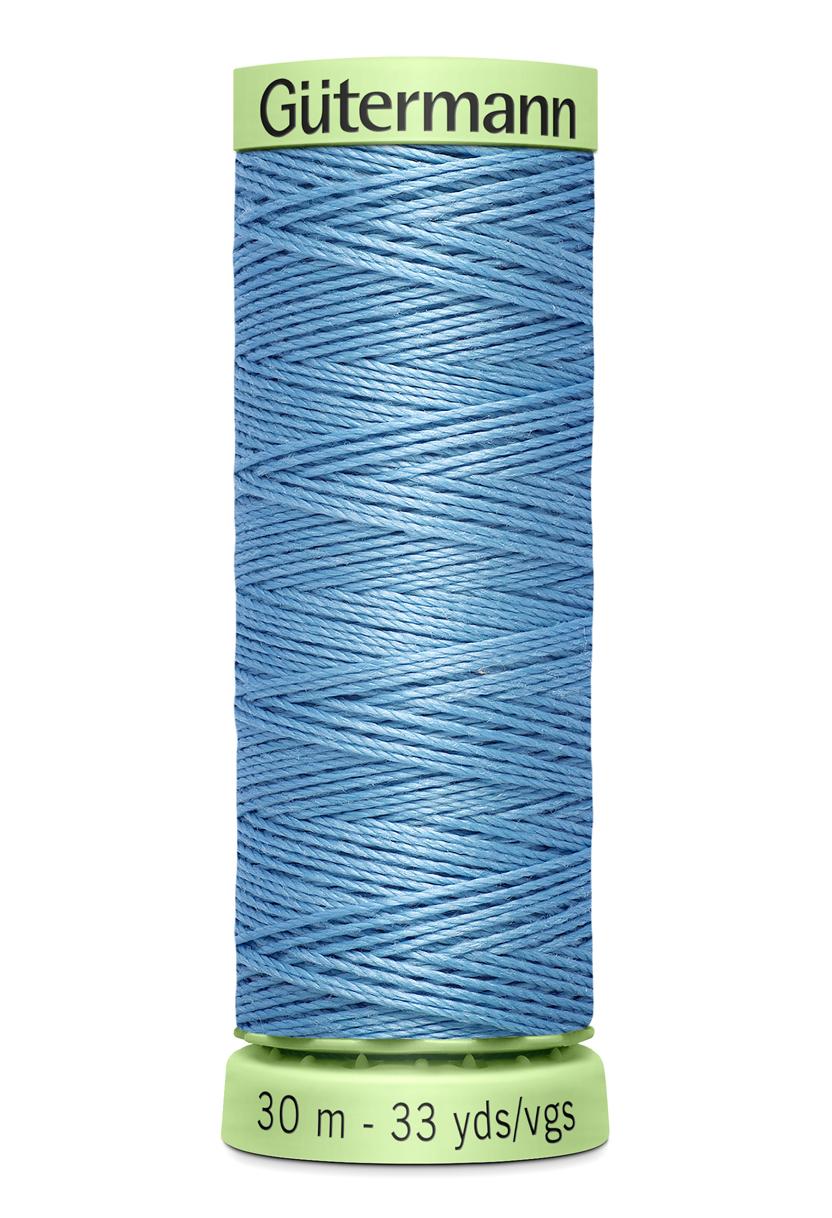 Knapptråd 30m Himmelsblå
