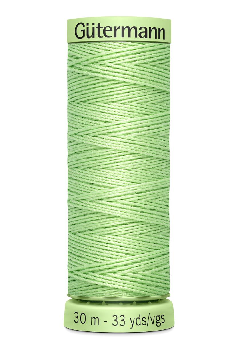 Knapptråd 30m Ljusgrön