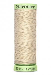 Knapptråd 30m Ljusbeige
