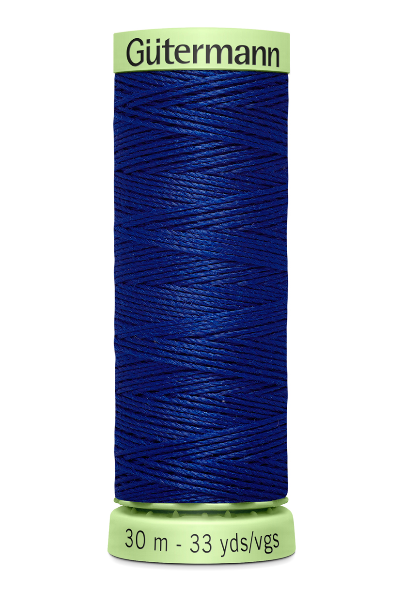 Knapptråd 30m  Blå