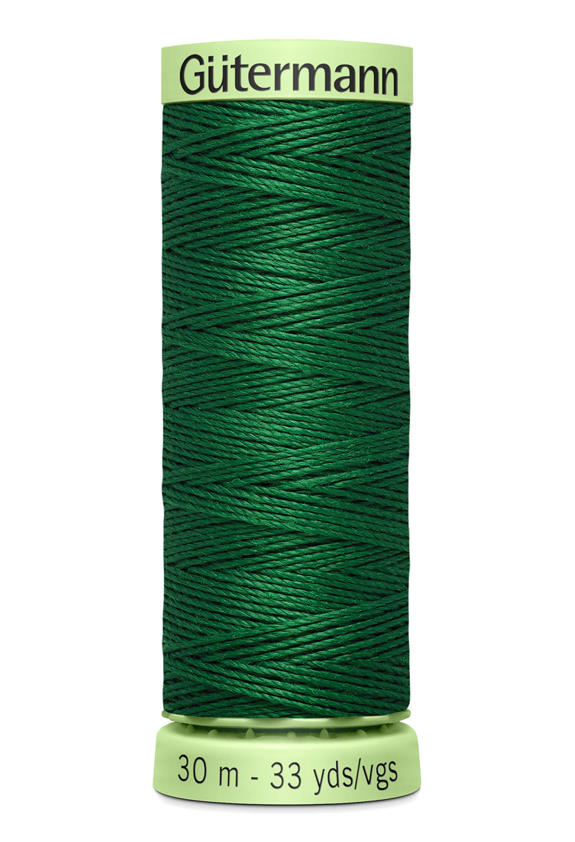 Knapptråd 30m Grön