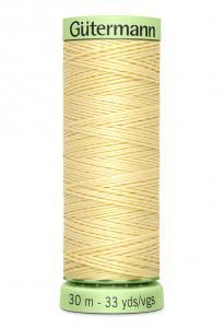 Knapptråd 30m Ljusgul