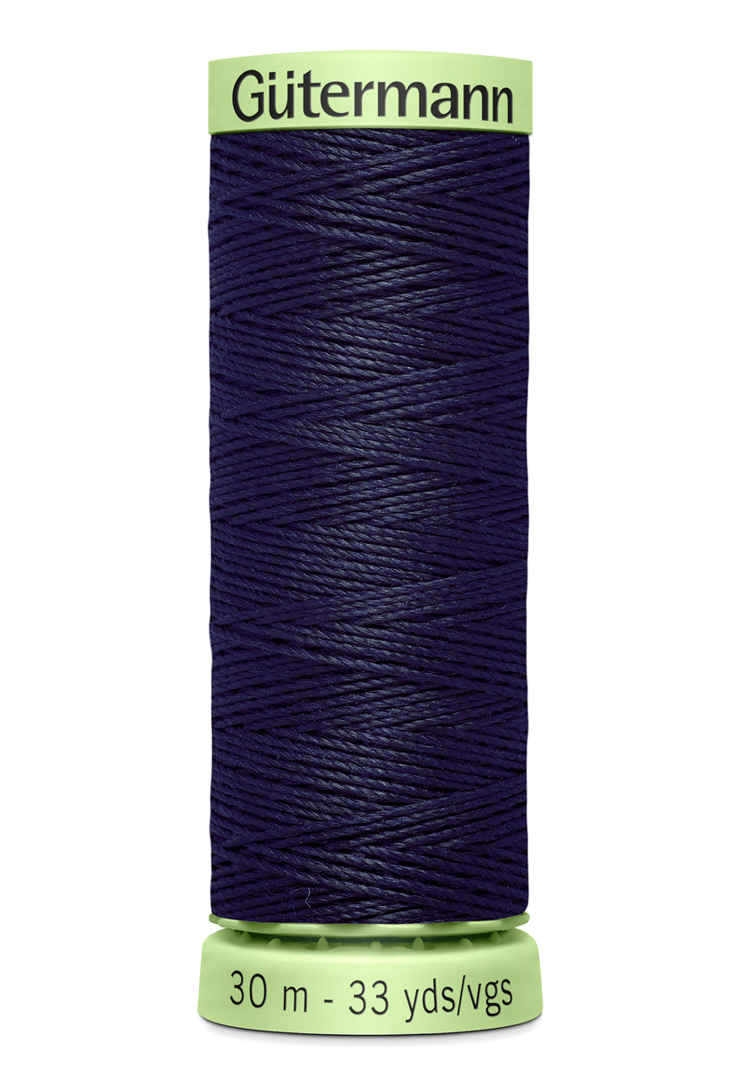 Knapptråd 30m Marinblå
